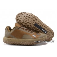 "Under Armour Fat Tire Low ""Brown"" Running Shoes High Quality Copuon Code"