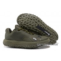 Under Armour Fat Tire Low Army Green Running Shoes Online Cheap To Buy