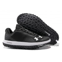 "Under Armour Fat Tire Low ""Black/White"" Running Shoes Fast Shipping Top Deals"