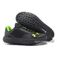 "New Released Under Armour Fat Tire Low ""Night"" Black/Stealth Gray/Northern Lights For Sale"