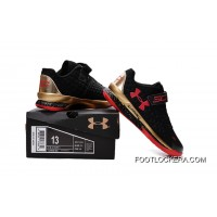 Under Armour Kids Black Red Shoes Lastest