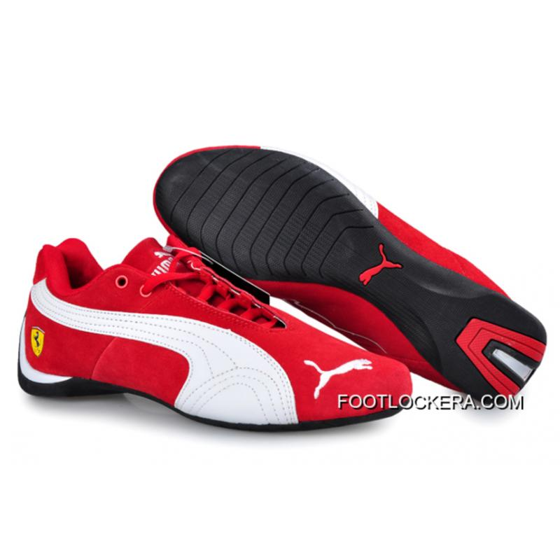 3131aaa29ca Puma BMW Shoes Dark red White 2018 New Release ...