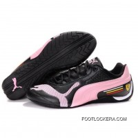 Womens Puma Drift Cat IV In Black-Pink 2018 Online