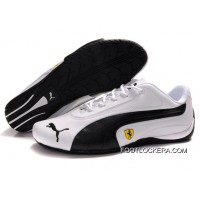2018 Free Shipping Womens Puma Ferrari In White/Black