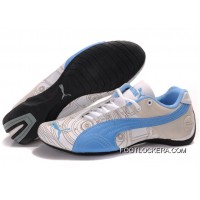 Womens Puma Future Cat Carve Blue/White 2018 New Style