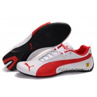 2018 Discount Womens Puma Future Cat GT Ferrari White/Red