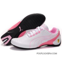 Womens Puma Future Cat M1 In White-Pink 2018 Online