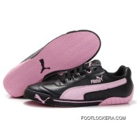 2018 Best Womens Puma Michael Schumacher Shoes Black Pink