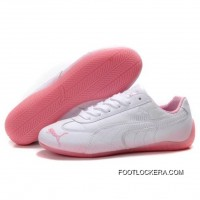 Womens Puma Voltaic Shoes White Pink 2018 Online