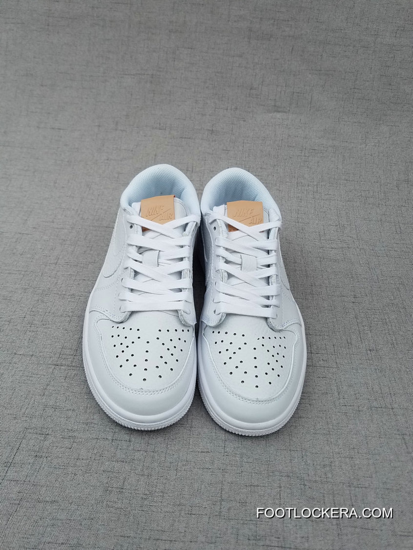 huge selection of b3a58 d83a4 Nike Air Jordan 1 Retro Low OG Premium White Vachetta Tan-White Shoes For