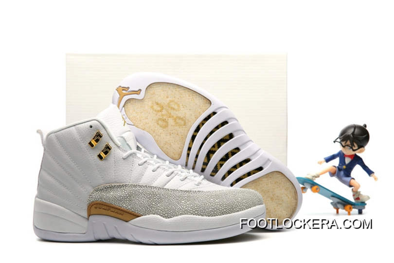 "more photos 06669 231a2 Nike Air Jordan 12 ""OVO"" White Authentic"
