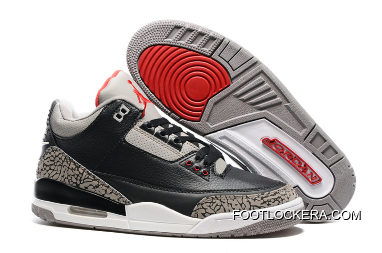 Popular Nike Air Jordan 3 III Cement Mens Shoes Brown with Great Prices