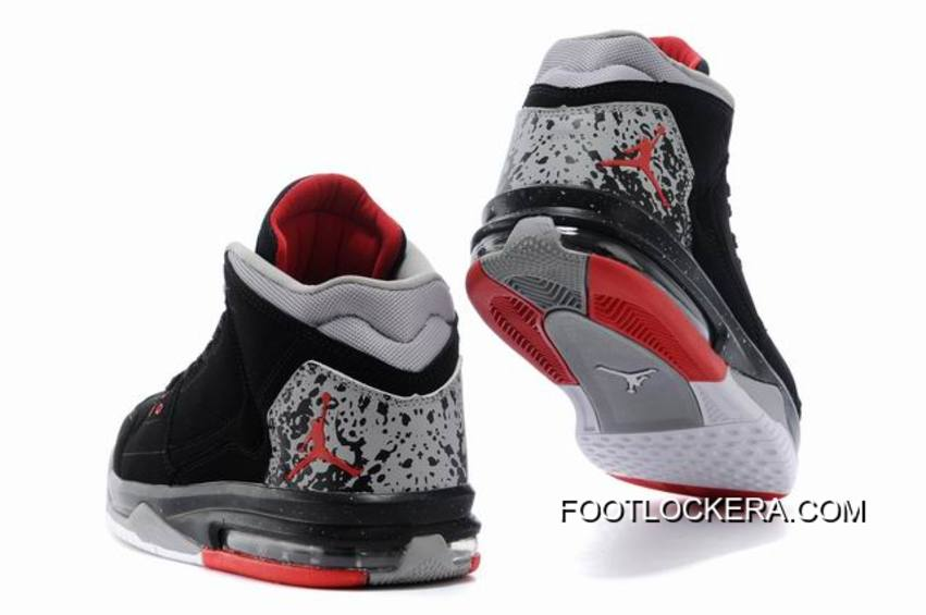 the best attitude a81a0 cb7ee Nike Jordan Flight Origin BlackFire Red-Cement Grey Top Deals