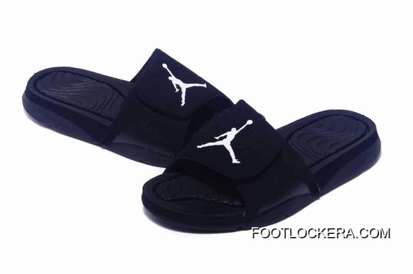 d094418d741ba Nike Jordan Hydro IV Retro All Black Top Deals