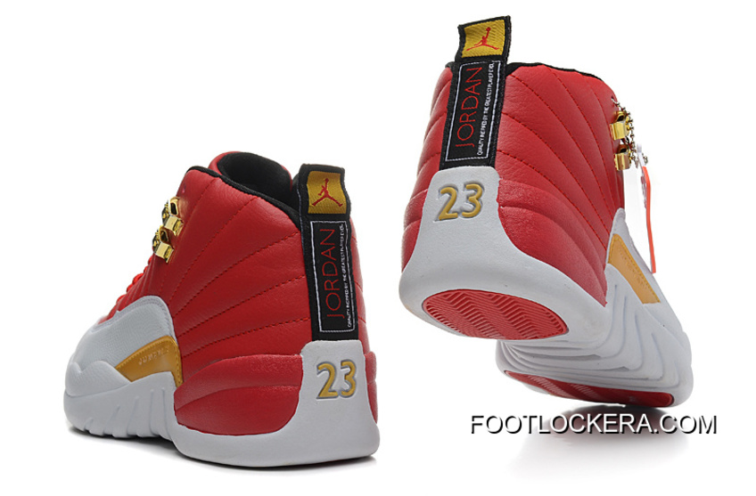 6dcc7eef3fb Nike Air Jordan 12 GS Cherry Red White New Style