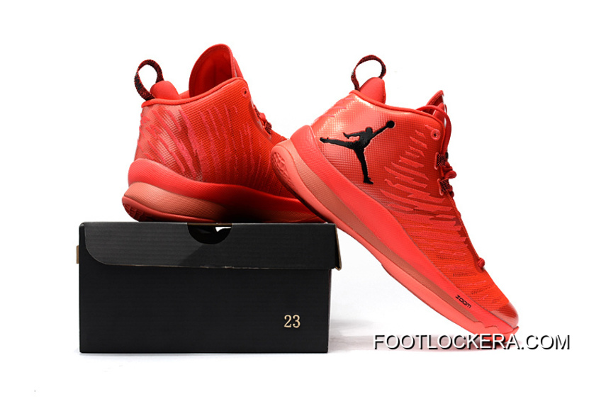 Nike Jordan Super.Fly 5 X Red/Black For Sale