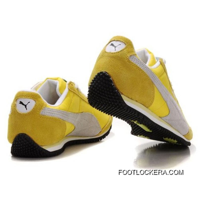 2bf062b856d 2018 Outlet Mens Puma Usain Bolt Running Shoes Yellow Grey