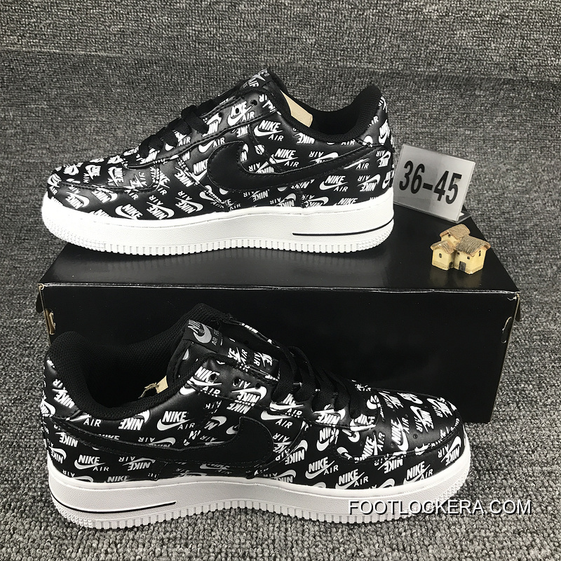 NIKE AIR FORCE 1 07 QS LOGO PRINT 555106-003 Online