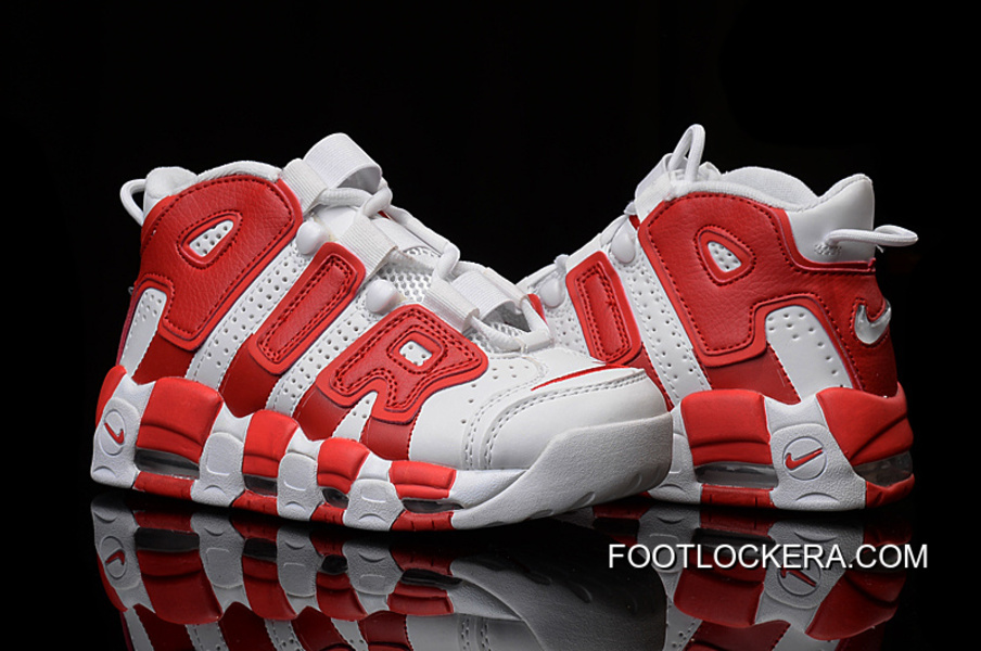 727197dbcb28 Nike Air More Uptempo White Gym Red Cheap To Buy