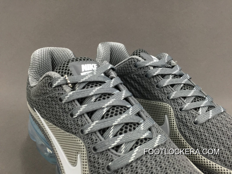 NIKE AIR VAPORMAX FLYKNIT 2018 Grey White Authentic 57e704622