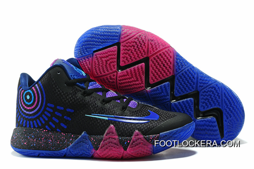 Nike Kyrie 4 Mens Basketball Shoes Drak Blue For Sale