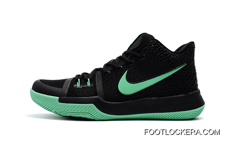 """Cintura Adversario fractura  Nike Kyrie 3 """"Black Green""""Shoes For Men Online, Price: $88.09 - Sneakers -  Athletic Shoes 