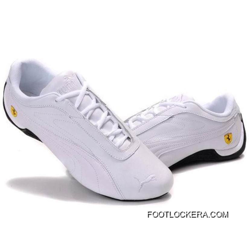 Puma Future Cat GT Ferrari Shoes In White 2018 Super Deals 10503c39c