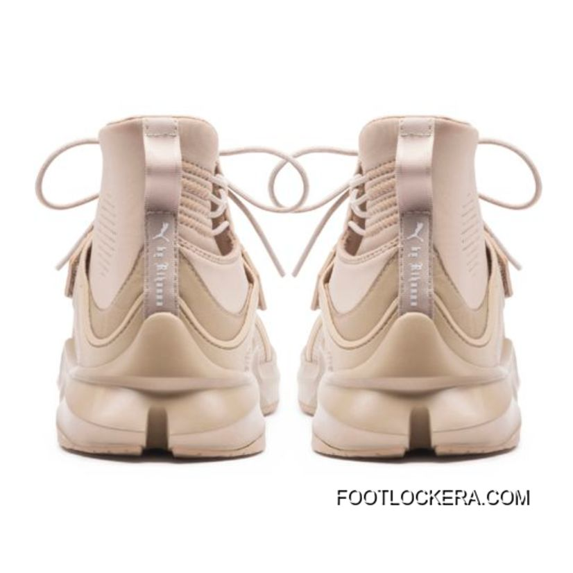 FENTY TRAINER HI WOMENS SNEAKERS Style Number 190398-03 Sesame-Sesame Lastest