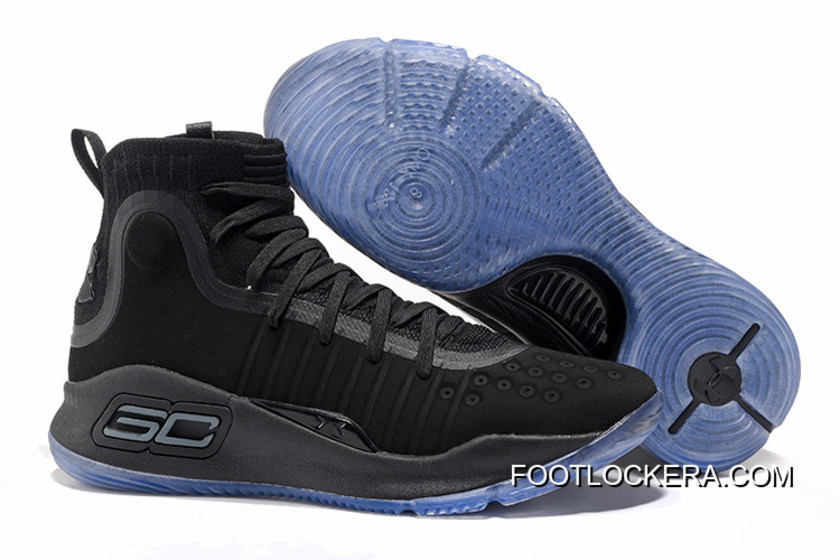 9ce243bc40c Under Armour Curry 4 Basketball Shoes Black Blue Top Deals