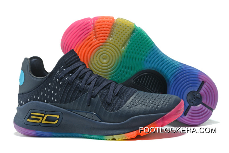 """de4922a52b2 Under Armour Curry 4 Low """"Be True""""Basketball Sneakers Top Deals ..."""