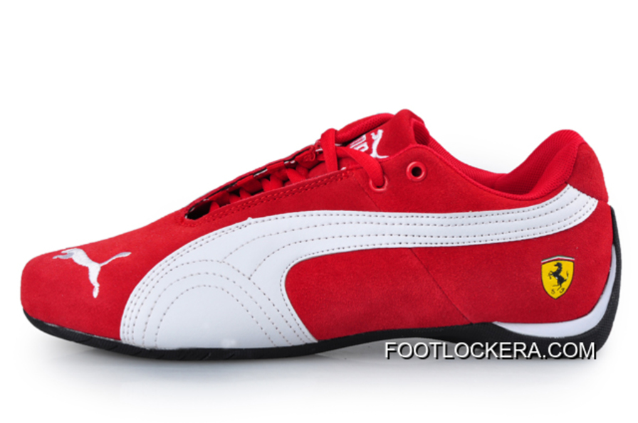 42a7400939f7 Puma BMW Shoes Dark red White 2018 New Release